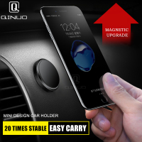 Magnetic Car Phone Holder Universal Wall Desk Metal Magnet Sticker Mobile Stand Phone Holder Car Mount Support