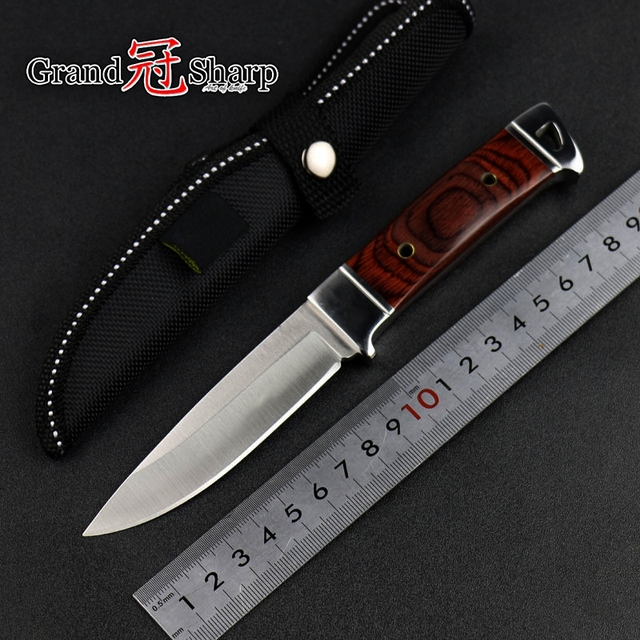 Utility Chef knife Kitchen Knives Tactical hunting knife outdoor camping survival folding knives Defense Fishing Hiking Tools 4