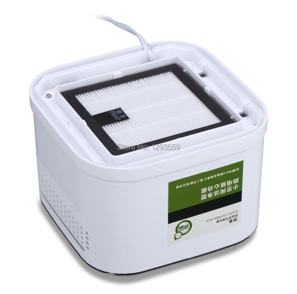 Portable negative ion,ozone <font><b>air</b></font> <font><b>purifier</b></font> <font><b>machine</b></font> with high efficient active carbon and <font><b>HEPA</b></font> filters,best choice for <font><b>bedroom</b></font>