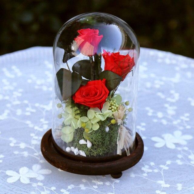 Zipi Glasses Cover Preserved Fresh Flower Wedding Decoration ...