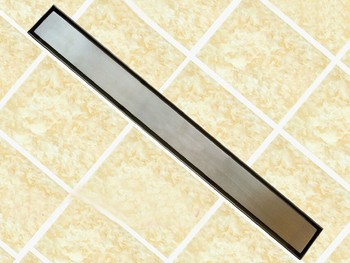 60cm or 80cm Stainless Steel Linear Shower Drain 800mm shower drain channel,shower floor drain,gate drain DR228