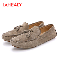 Moccasin Breathable Men S Loafers Designer Flat Soft Leather Shoe Fashion Boat Shoes Luxury Brand