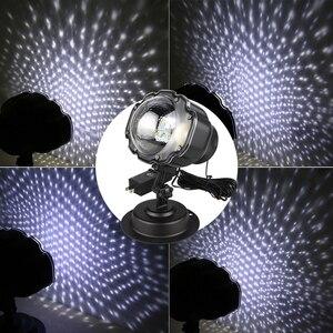 Image 5 - Luces de Navidad proyector de Exteriores Proyector láser de jardín Mini lámpara Led proyector de nieve en movimiento para Navidad Fiesta de Año Nuevo DA