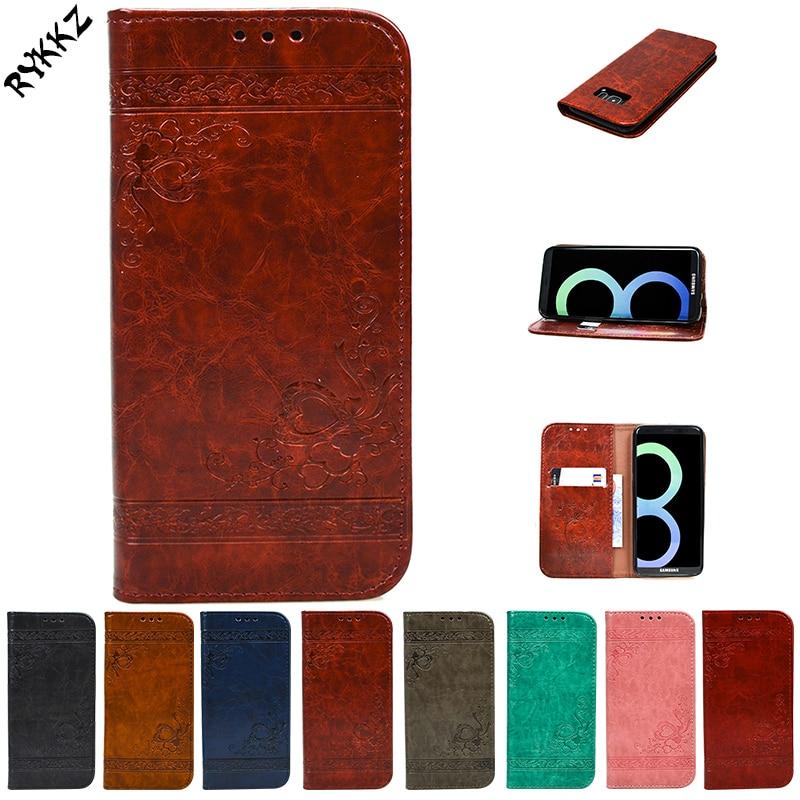 For Samsung Galaxy S8 Plus SM G955FD G955F G955 Flip Case Phone Leather Cover for Samsung S 8plus SM-G955 Silicone phone bag