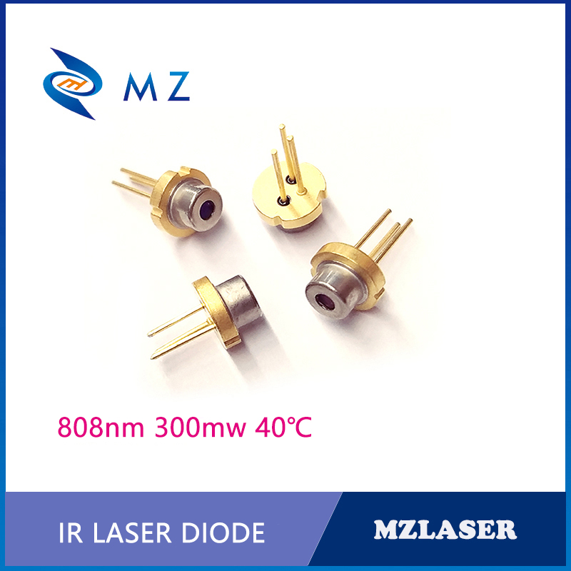 Hot Selling TO-18 Packaging Industrial 808nm 300mw Laser Diode