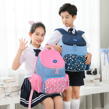 Rye Time primary backpacks schoolbag grade 1-6 small boys and girls schoolbag 6-12 years old lightening and protecting the spine