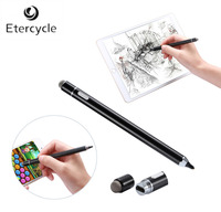 High Precision 1 8mm Copper Tip Chargeable Stylus Capacitive Touch Pen For IOS Android Microsoft Tablets