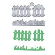 41*90mm  Fence grass  New scrapbooking DIY  Carbon Sharp Metal steel cutting die Book photo album art card Dies Cut