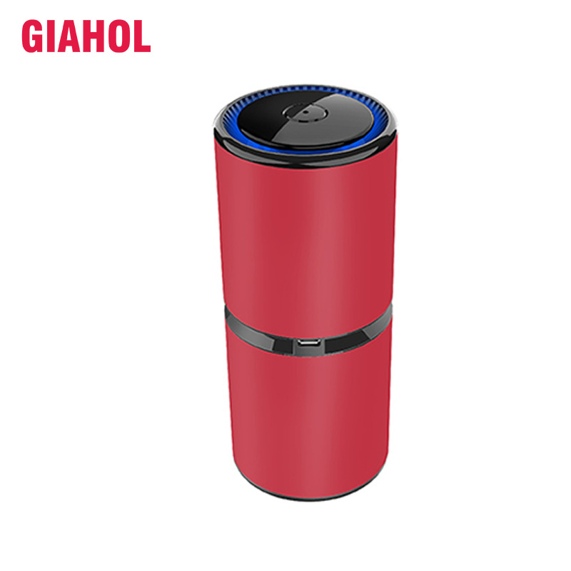 GIAHOL Car Ionizer Air Purifier Negative Ion Generator with Dual USB Port Air Cleaner for Automobile or Small Room DeodorizationGIAHOL Car Ionizer Air Purifier Negative Ion Generator with Dual USB Port Air Cleaner for Automobile or Small Room Deodorization