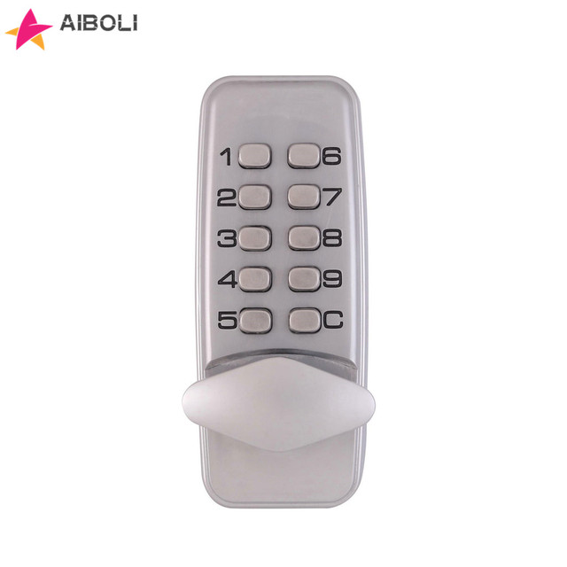 AIBOLI Zinc alloy digital Smart lock Gold and silver electronic Door lock Anti-theft Without battery mechanical smart door lock