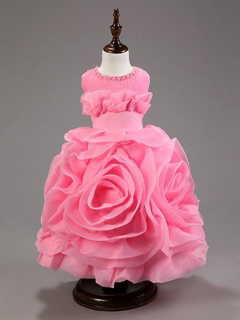Los niños vestidos niñas vestido de bola de princesa chicas hermosas ...