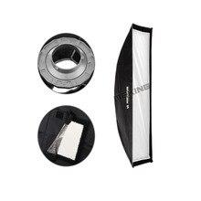 """Meking softbox 30 cm x1 20 cm 12 """"x 48"""" fotografía de flash softbox reflector para canon eos nikon cámara flash"""