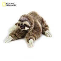 National Geographic Simulation Sloth Baby Doll Lifelike Sloth Plush Toys Stuffed Dolls Kids Toys Lovely Doll