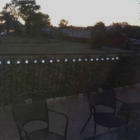 1x Clearance Sale Solar Powered String Lights Round Ball 3M 10led Warm White Globe Led String