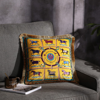 Luxury Decorative Pillows | Luxury Fashion Velvet Double-Sided Printing Cushion Cover PillowCase Home Decorative Sofa Throw Pillows Living Room Chair Seat#a
