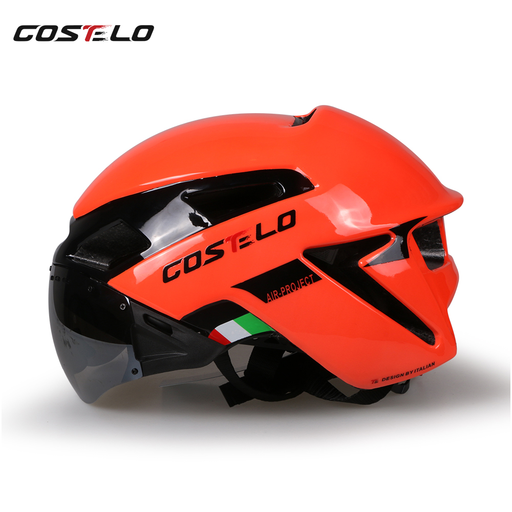 2017 costelo radfahren licht helm mtb rennrad helm fahrradhelm - Radfahren - Foto 5