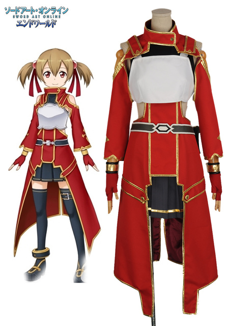 Free Shipping Sword Art Online Silica Dress Anime Cosplay Costume. 1 order 1a009845fa41
