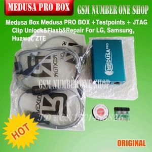 Image 5 - 100% Originele Nieuwe Medusa Pro Doos Medusa Box + Isp Alle In Adapter + Jtag Clip Mmc Voor Lg Voor samsung Voor Huawei Met Optimus Kabel