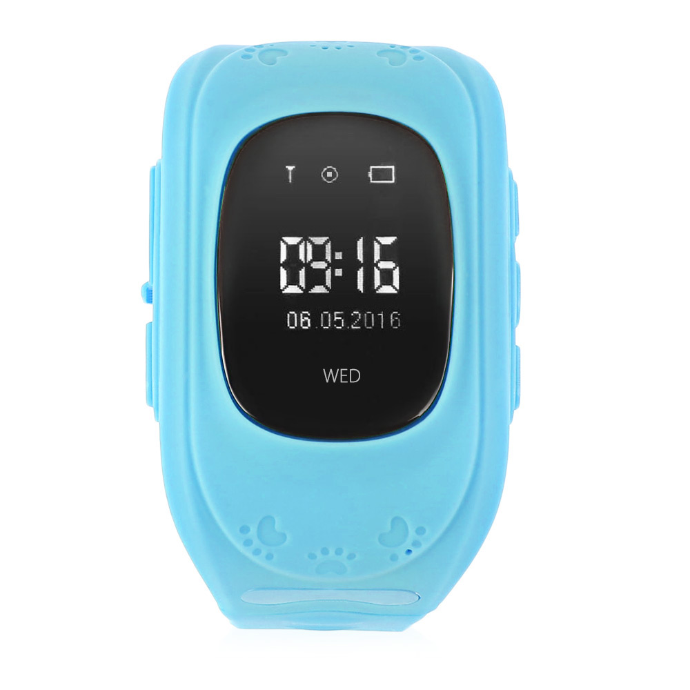 Q50 smart kid safe gps smart watch reloj sos llamada localizador localizador ras