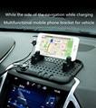 Многофункциональный автомобильный навигационный Противоскользящий коврик для мобильного телефона  usb-зарядное устройство для Opel Mokka zafira ...