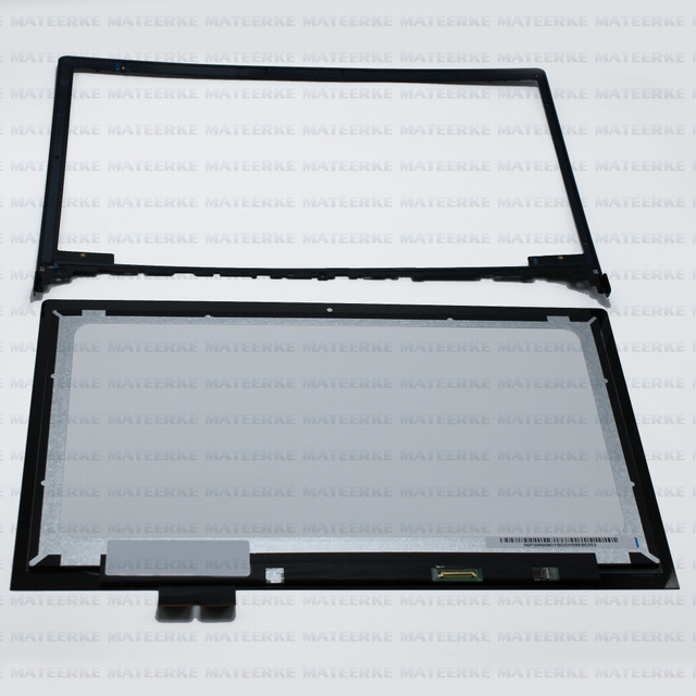 "Perfect 15.6"" LCD Touch Screen Digitizer Assembly for Lenovo Ideapad Flex 2 15 15D 20405 with Front Bezel,1920X1080"