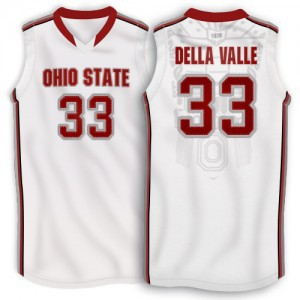 Customized 33 Amedeo Della Valle Ohio State Buckeyes