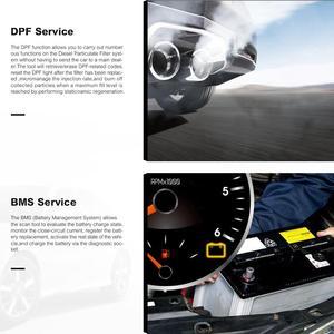 Image 5 - Autel MaxiCheck Pro herramienta de diagnóstico de coche, escáner OBD2, EPB/ABS/SRS/SAS/Airbag/reinicio del servicio de aceite/BMS/DPF, launch x431 elm327