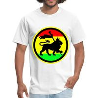 Rasta Lion Of Judah Men's T Shirt by Spreadshirt