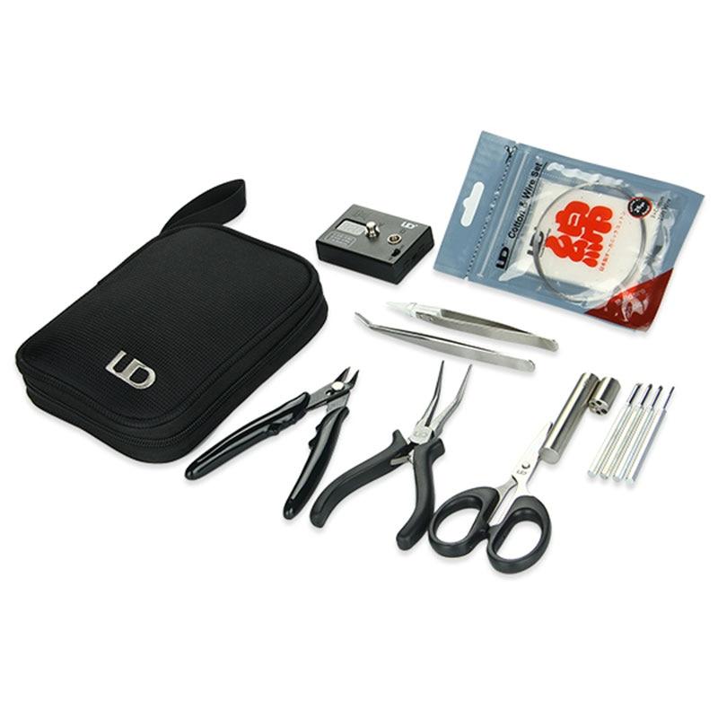 Original Coil Tool Master Kit For RDA RBA RTA RDTA Atomizer e Cigarette w/ Ohm Meter/Cotton/Tweezers/Pliers/Scissor/Coil jig