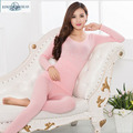 100% Pure Silk Women's Underwear Sets Women's Warm Clothing set of thermal underwear Female Body Suits Femme Women Underpants