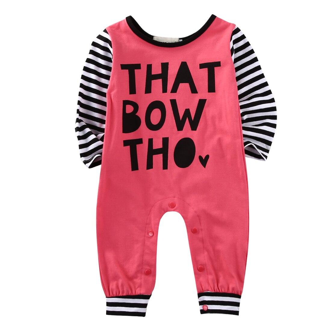 c88988a253270 Nouveau-né Bébé Fille Garçon Vêtements Barboteuse Infantile Salopette  Tenues Costume Set
