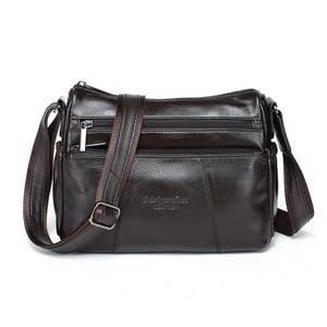 Image 2 - MEIGARDASS prawdziwej skóry Crossbody torby dla kobiet torba na ramię luksusowe torebki kobiet torba materiałowa portfele damskie Messenger torby