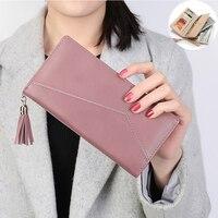 Long Clutch Women Wallet Leather Case Phone Bag For Iphone 6s 7 Plus Xiaomi Mi6 Redmi