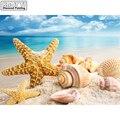DIY pintura de diamante punto de cruz mar Shell starfish paisaje decoración del hogar mosaico de diamantes de imitación 5D bordado de diamantes