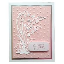 Eastshape 1Pc Metal Cutting Dies Scrapbooking for Card Making DIY Embossing Cuts New Craft Bluebell Flowers Elites Spring