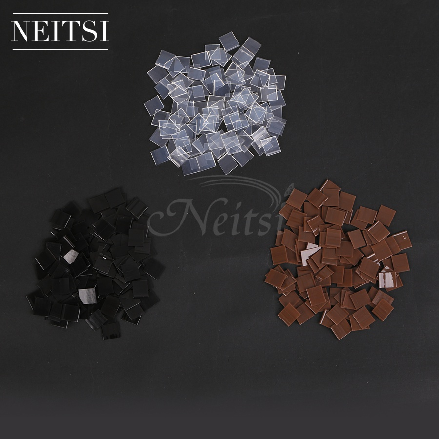 Hair Extensions & Wigs Tools & Accessories Neitsi 1kg Italian Glue Keratin Bonding Glue Fusion Flat Tip For Hot Fusion Human Hair Extensions 10000pcs 1cm*1cm Fast Shipping Elegant In Smell