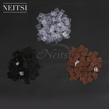 Neitsi 1kg Italian Glue Keratin Bonding Fusion Flat Tip For Hot Human Hair Extensions 10000pcs 1cm*1cm Fast Shipping