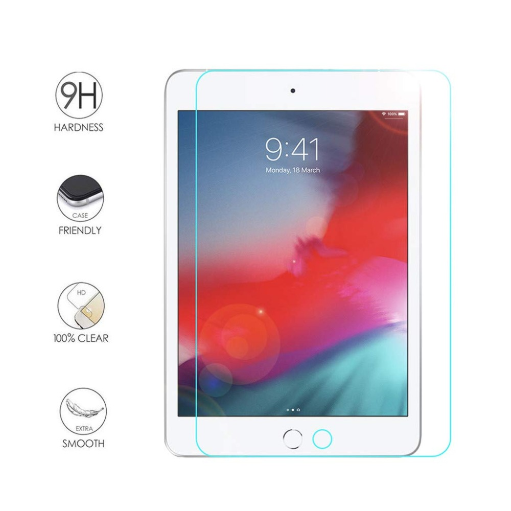 """9H Tempered Glass Screen Protector For Apple iPad mini 1//2//3 Tablet 7.9/"""" 3-Pack"""