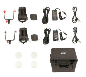 Image 5 - 2 Pcs CAME TV Boltzen 100 w Fresnel Fokussierbare LED Tageslicht Kit