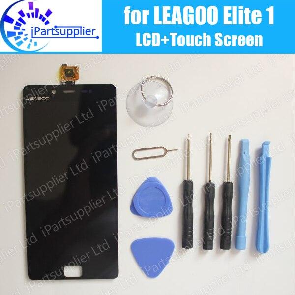 LEAGOO Elite 1 Display LCD + Montagem da Tela de Toque 100% LCD Original Digitador de Vidro Substituição Do Painel Para LEAGOO Elite 1 + ferramentas