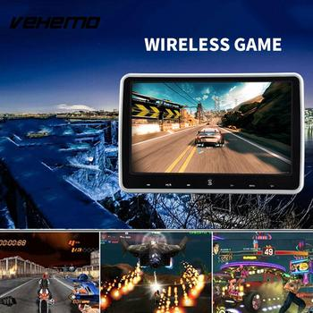 2018 Car Headrest Player Universal DVD Monitor DC 12V Car Portable Game Console Audio Player