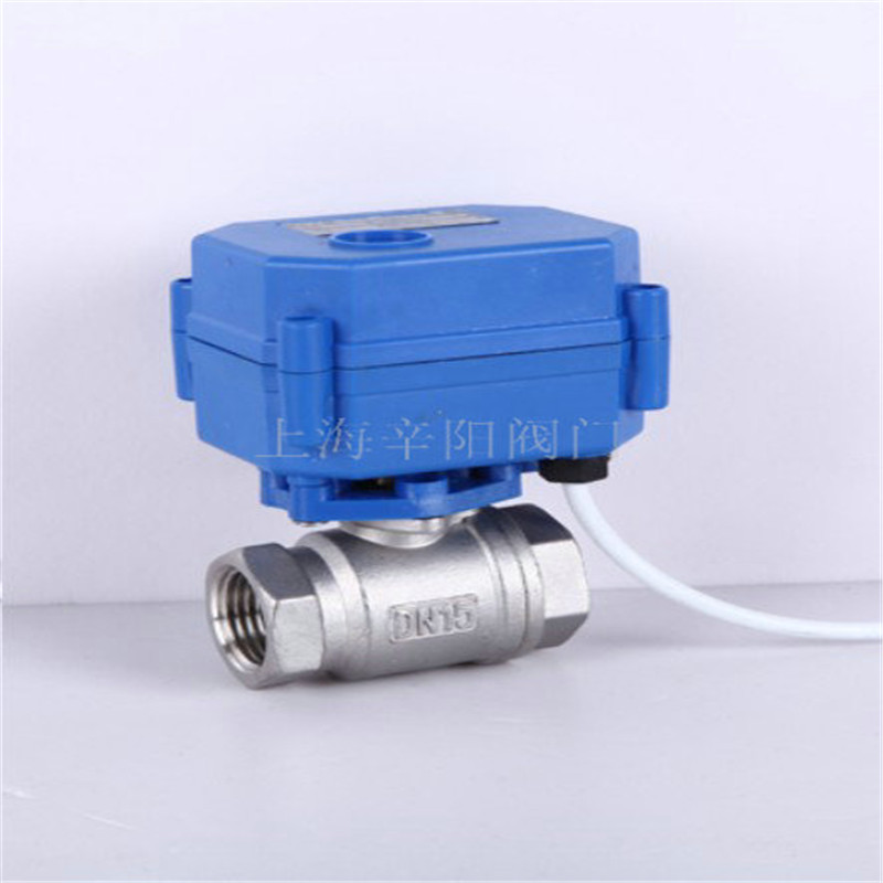 Stainless Steel Ac220v Motorized Ball Valve Dn15 Dn20 Dn25 2 Way Electrical Valve In Ball
