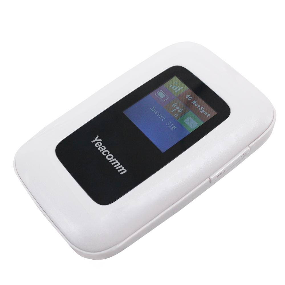 Livraison gratuite! Débloquez sans fil 150 M CAT4 FDD TDD LTE Mini poche Mobile WIFI Hotspot Portable LTE 4G Mifi routeur avec fente sim