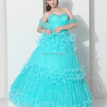 XGGandXRR AQ001 Sexy Quinceanera Dress Ball Gown Dress for