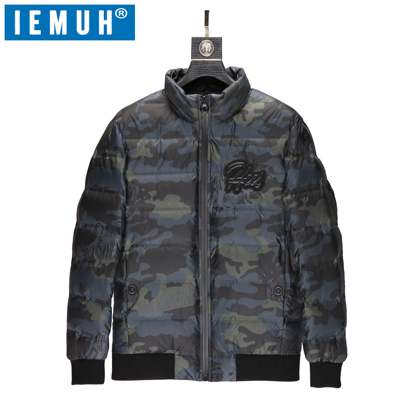White Duck Down Jacket Men Casual Autumn Winter Warm Coat Mens Ultralight Duck Down Jacket Male Windproof Parka Thick