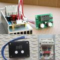 AC 220 V 10000 W SCR Voltage Regulator Controle de Velocidade de Dimerização Dimmers Termostato PARA forno Elétrico, aquecedor de água, lâmpadas, ferro