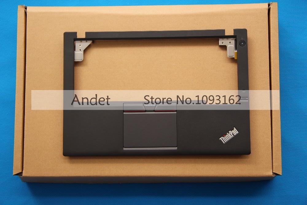 New Original for Lenovo ThinkPad X250 X250i X240 Palmrest Cover Upper Case 3 Three Keys Touchpad Fingerprint Cable 00HT390