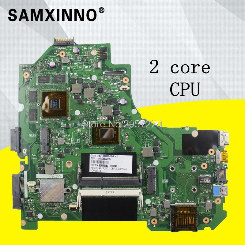 K56CM Motherboard GT635-987U For ASUS S56C S56CM K56CM S550C S550CM K56CB laptop Motherboard K56CM Mainboard K56CM Motherboard motherboard for asus k56cm s56c s550cm a56c laptop motherboard k56cm mainboard 987 cpu rev 2 0 integrated in stock
