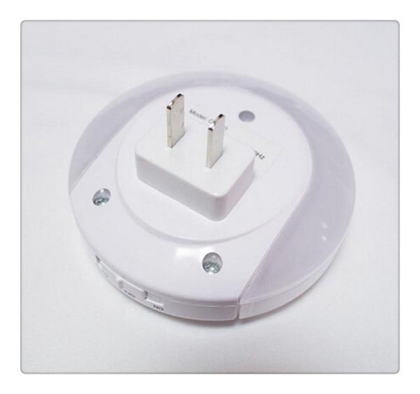 Varm! Smart design LED-nattlampa med ljusgivare och dubbla - Nattlampor - Foto 4