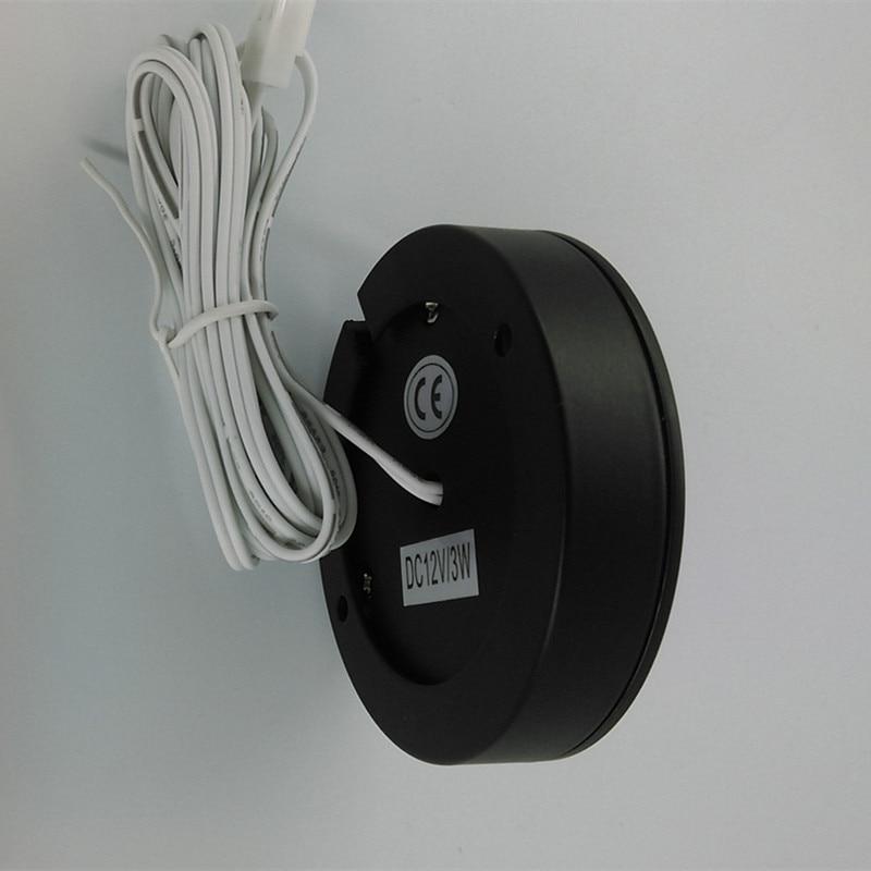 LED rasvjeta kućišta 3W 12V LED kuhinja ispod rasvjete ormarića - Unutarnja rasvjeta - Foto 3